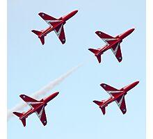 RAF Red Arrows Aerobatic Display Team Photographic Print