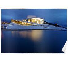 Oslo Opera House Poster
