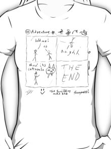 'Adventure' by Ted Scribbles T-Shirt