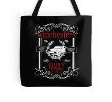 The Winchesters - Supernatural Typography Tote Bag