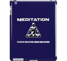 Meditation.  iPad Case/Skin