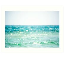 Bokeh on the Waves Art Print
