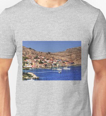 The Bay at Nimborio Unisex T-Shirt