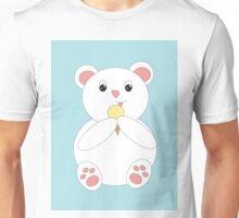 Polar Bear Eating Ice Cream Unisex T-Shirt