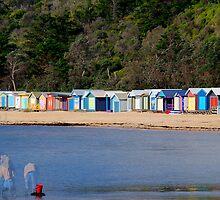 "Mills Beach in Mornington ""part 1"" by Gerard Rotse"