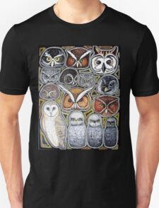 Owl family Unisex T-Shirt