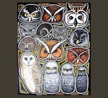 Owl family Unisex T-Shirt