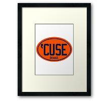 'CUSE - Retro Framed Print