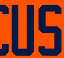 'CUSE - Retro Sticker