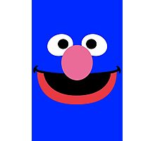 Grover face art geek funny nerd Photographic Print