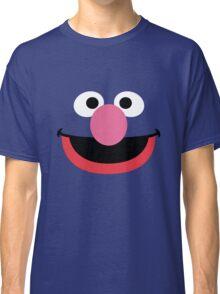 Grover face art geek funny nerd Classic T-Shirt