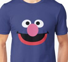 Grover face art geek funny nerd Unisex T-Shirt