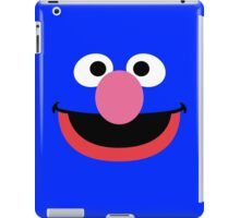 Grover face art geek funny nerd iPad Case/Skin