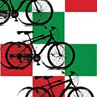 Italy - Cycling Poster by GordonGraphics