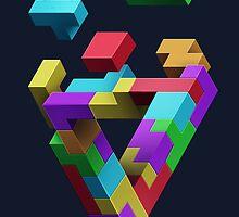 Penrose Tetris by Shaun Ellis