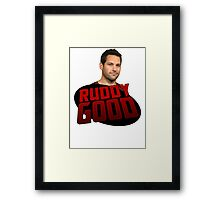 ANT MAN IS RUDDY GOOD Framed Print