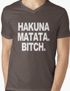 Hakuna matata sweater geek funny nerd Mens V-Neck T-Shirt