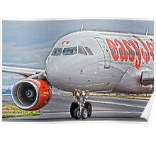 easyJet Airbus 319 Poster