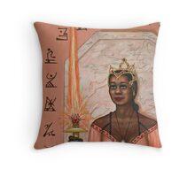 Queen  of Swords Throw Pillow