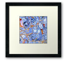 Patterns of the Sea no.1 Framed Print