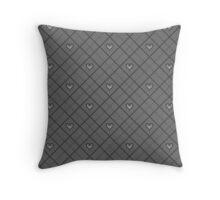 Kingdom Hearts Argyle - Soot Throw Pillow