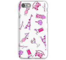 Bonjour Paris iPhone Case/Skin