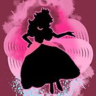 Super Smash Bros Peach Silhouette by jewlecho
