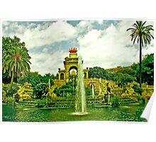 Parc de la Ciutadella  Poster