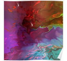 Deep Thoughts - Abstract  Art + Products Design  Poster