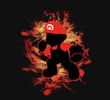 Super Smash Bros Mario Silhouette T-Shirt