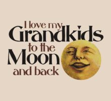 I love my grandkids to the moon and back by Boogiemonst