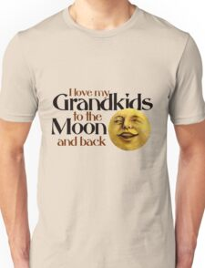 I love my grandkids to the moon and back Unisex T-Shirt