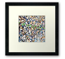 Patterns of the Sea no.4 Framed Print