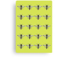A Swarm of Wasps  Canvas Print