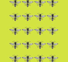 A Swarm of Wasps  by WildTangles