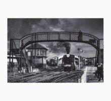 Bo'ness and Kinneil Railway B&W One Piece - Short Sleeve