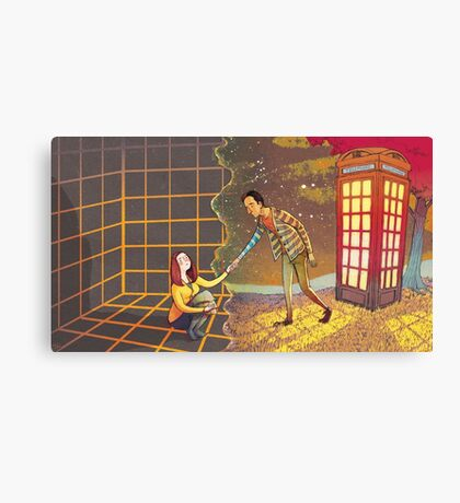Let's Go - Abed & Annie Canvas Print