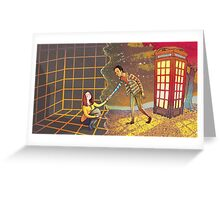 Let's Go - Abed & Annie Greeting Card