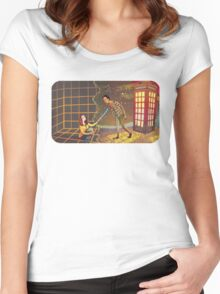 Let's Go - Abed & Annie Women's Fitted Scoop T-Shirt