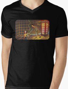 Let's Go - Abed & Annie Mens V-Neck T-Shirt
