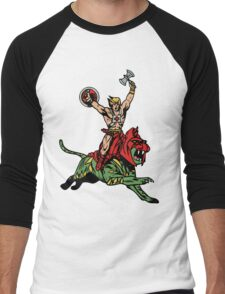 Vintage Man Men's Baseball ¾ T-Shirt