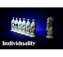 Individuality Photographic Print