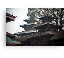 Nepal Temples Canvas Print