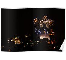 Festival Fireworks Poster