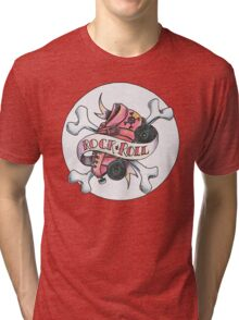 Rock and Roller Derby Tri-blend T-Shirt