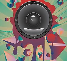 Abstract Audio Speaker 2 by AnnArtshock