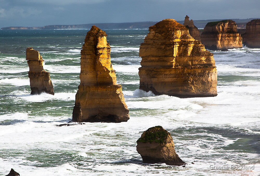 12 Apostles - Great Ocean Rd Victoria by Graeme Buckland