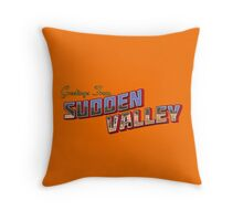 Greetings from Sudden Valley Throw Pillow