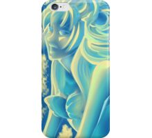 Blue Mermaid - Sirène bleue iPhone Case/Skin