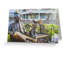 Roy and Minnie Greeting Card